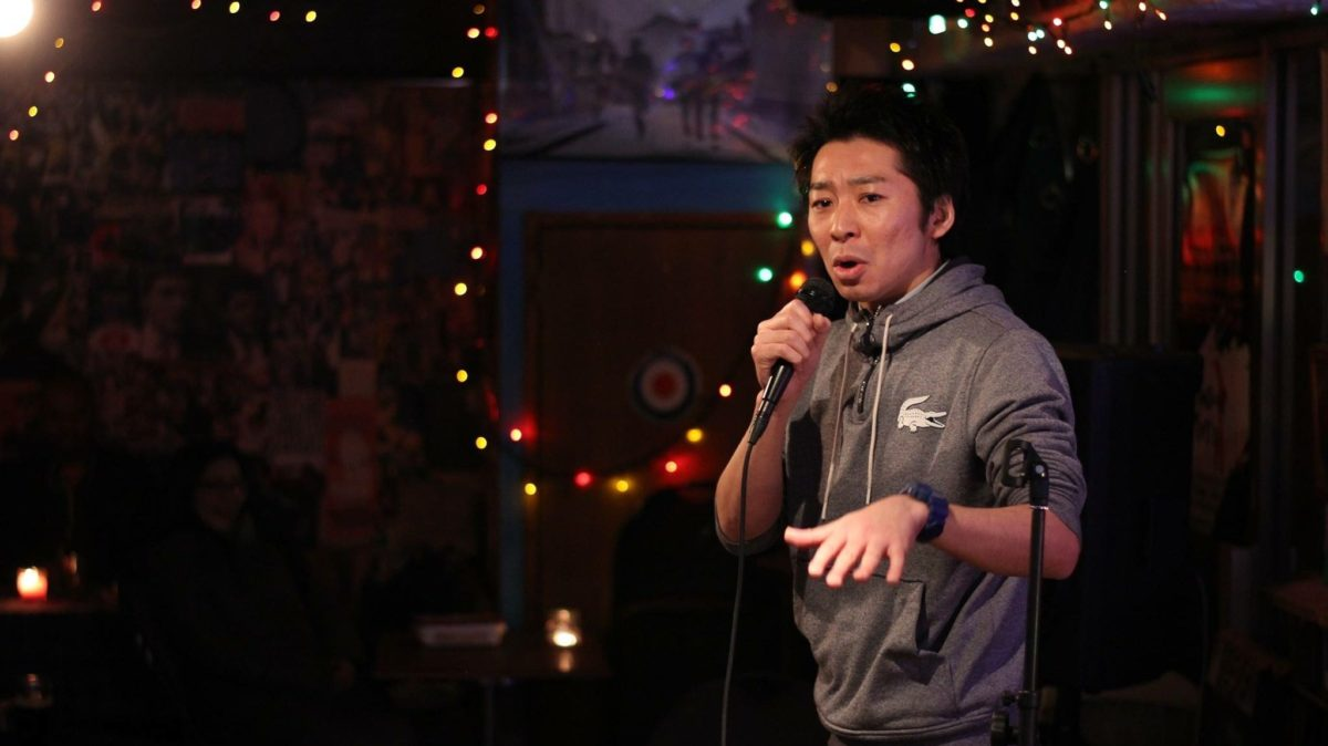 "Live English Stand-up Comedy Show in Tokyo by Japanese Comedian ""Meshida"""