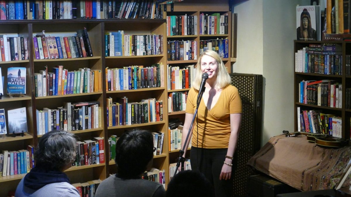 Report: Book Store Comedy Show @ Infinity Books Japan! [Vol.1]