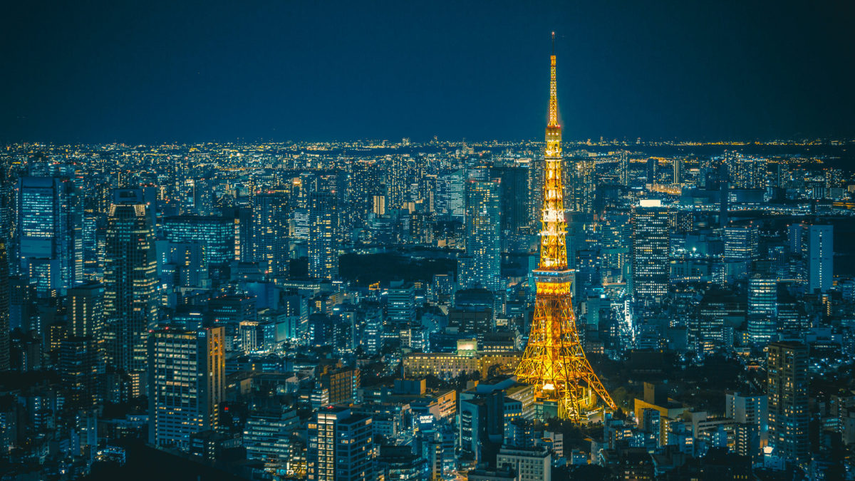 Top Observation Decks with Night Views of Tokyo