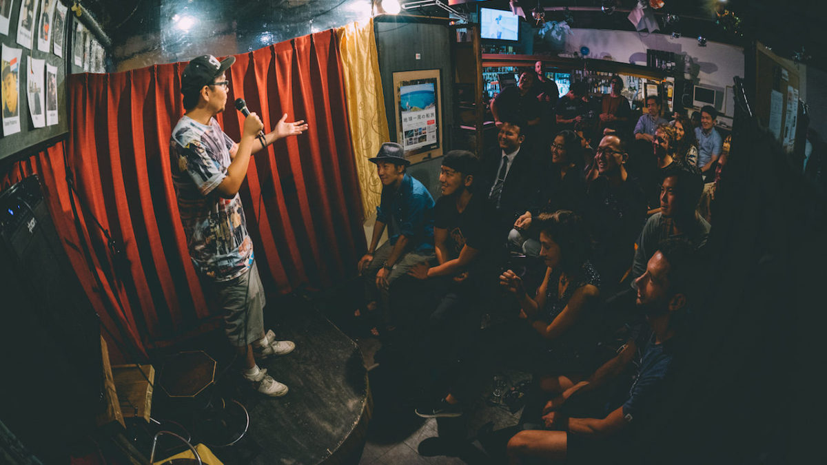Report: English Stand-up Comedy Show in Asakusa, Tokyo [Vol. 41]