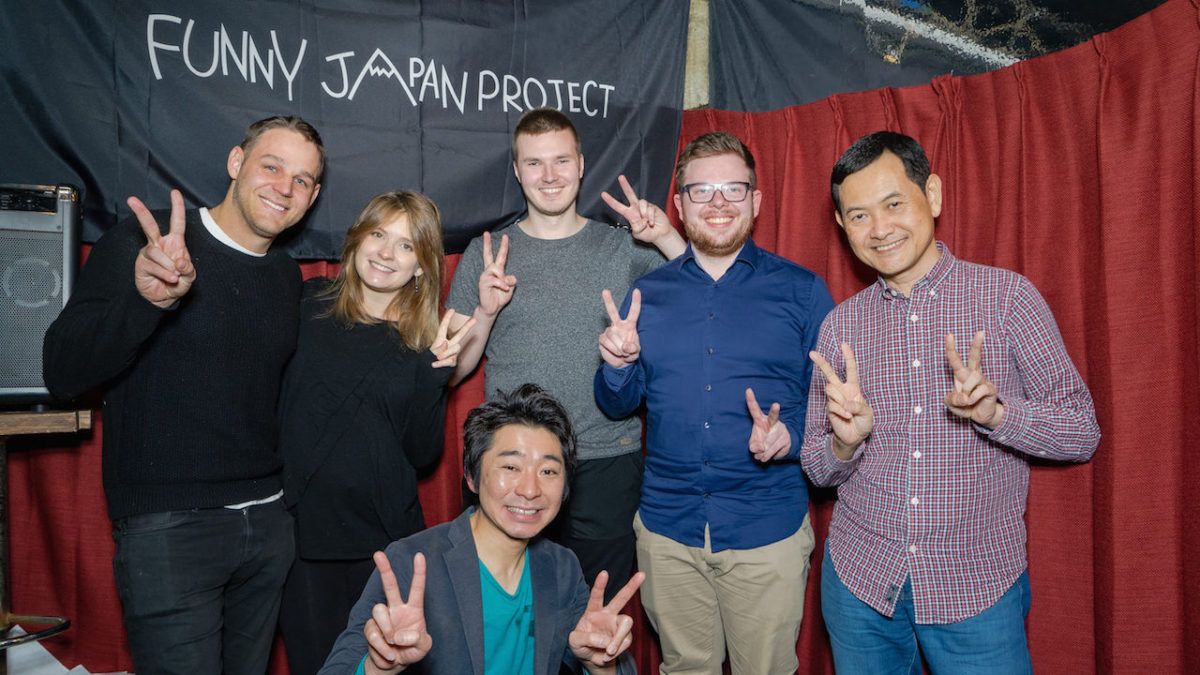 "Report: English Stand-up Comedy Show in Asakusa, Tokyo ""My Japanese Perspective"" [Vol. 274]"